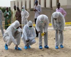 deuxième module du cycle criminalistique 2015 au C.F.J (Centre de Formation Judiciaire) de Dakar