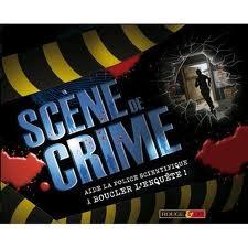 Scène de crime -Aide la police scientifique à boucler l'enquête