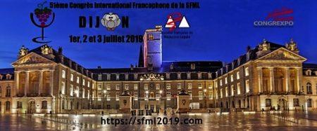 Congrès international francophone de médecine légale à DIJON